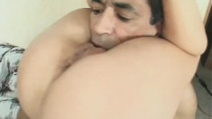 Threesome mature sex show from an old Latina and her friends