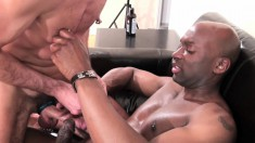 Insatiable hunks Champ Robinson and Dick Disco can't get enough of fucking