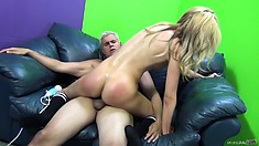 This guy just can't get enough of Emily Kae's precious tight pussy