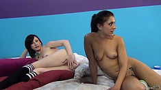 Precious harlots Jennifer and Mischa are in for some sexy fun