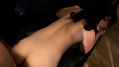 Her husband lets her fuck anyone she wants as long as he can watch