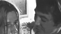 Black and white clip featuring some passionate anal screwing