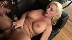 Angelica Lauren explores her passion for sex toys and wild lesbian sex