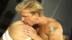 Hot Jesse Skyler moans while pleasuring handsome Ryan Wagner