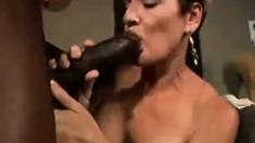 Tan Milf Doggystyle Fucks A Big Cock