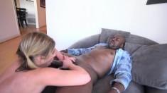 Anal interracial cuckold