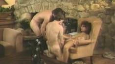 Vintage Hairy French Teen Has Sex Girl From