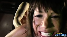 Ava experiences intense pleasure riding that dick and taking it deep from behind