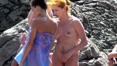 Candid voyeur videos on the beach