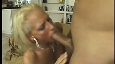 Amateur Euro blonde indulges in some out-of-control anal fucking