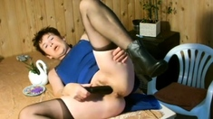 I fuck my pussy and get squirting orgasm
